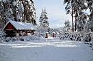 Chata Supertramp v zime
