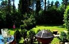 Chata Supertramp - upravená záhrada